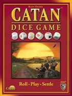 Catan Dice Game box