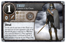 Thief card