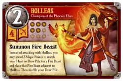 Holleas card