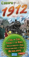 Ticket to Ride: Europa 1912 cover
